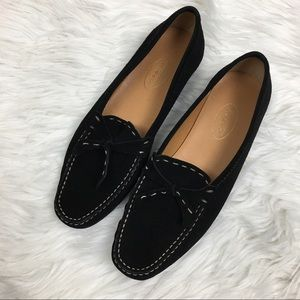 Talbots Suede Moccasins Size 7.5M